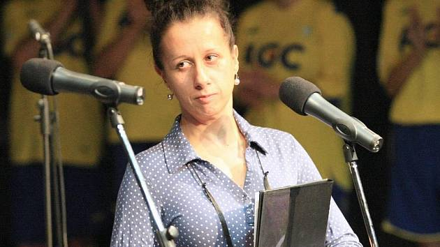 Ester Kočičková na loňském ročníku ústeckého festivalu Femima Film