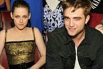 Robert Pattinson a jeho herecká patnerka Kristen Stewart dostali za upírskou filmovou ságu Stmívání ceny MTV. Snímek je z nedělního ceremoniálu.