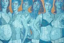 Obraz Ivany Štenclové s názvem Modelky