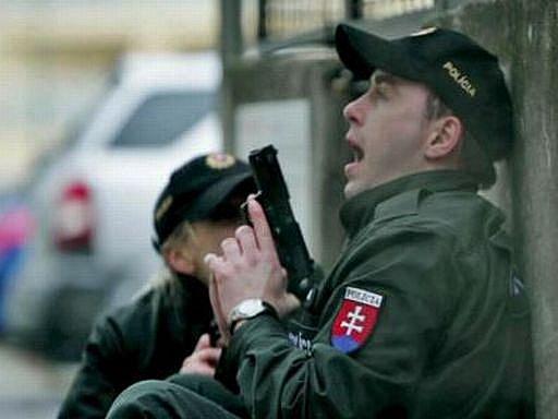 Děvínský masakr: Snímek z filmu