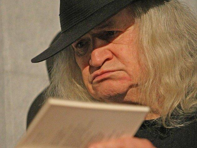 Autorské čtení Ivana Magora Jirouse v brněnském HA divadle