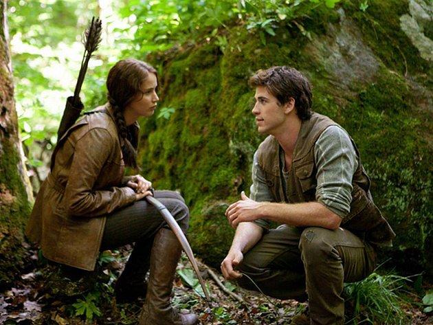 Hlavní hrdinové očekávaného kinohitu Hunger Games