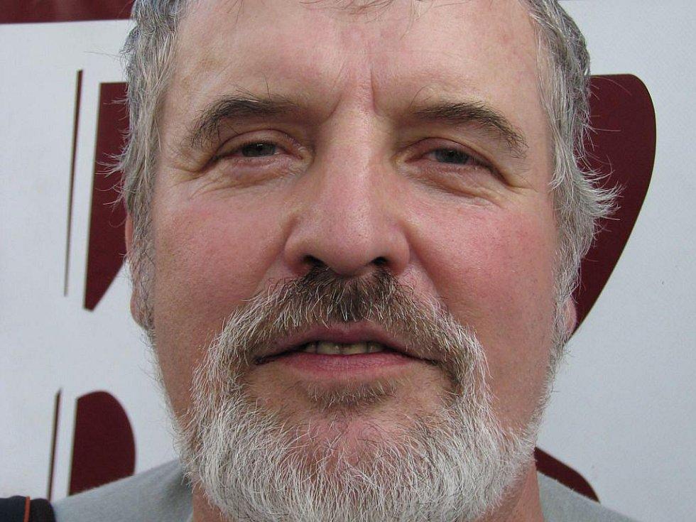 Jindřich Šrejber, jeden z pořadatelů Mezinárodního hudebního festivalu Porta