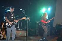 Česká metalová leganda Vitacit na koncertě v roce 2005