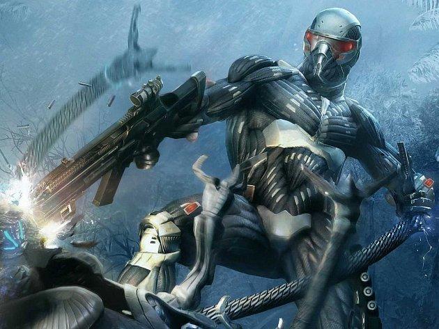 Počítačová akční hra Crysis.