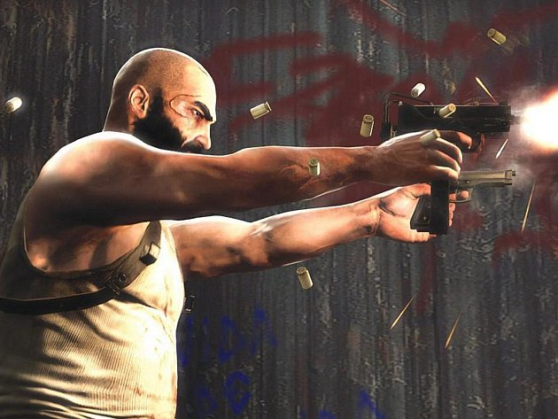 Počítačová hra Max Payne.