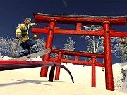 Počítačová hra SSX: Deadly Descents.