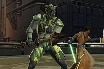Betaverze počítačové hry Star Wars: The Old Republic.