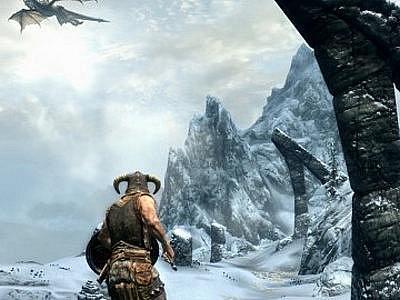 Počítačová hra Elder Scrolls V: Skyrim.