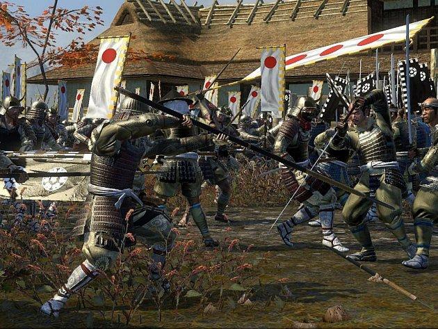 Počítačová hra Shogun 2: Fall of the Samurai.
