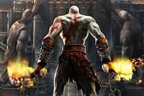Počítačová hra God of War.