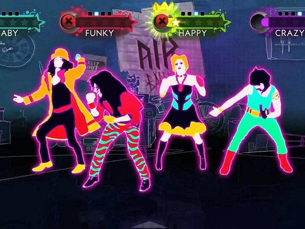 Počítačová hra Just Dance 3.