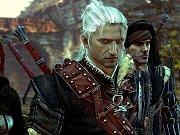 Obrázek z xboxové verze hry Zaklínač 2.