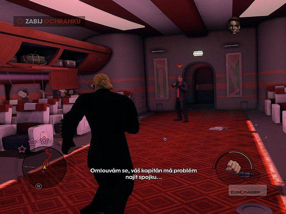 Počítačová hra Saints Row: The Third.