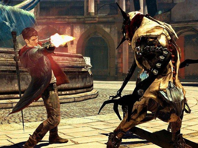 Počítačová hra Devil May Cry.