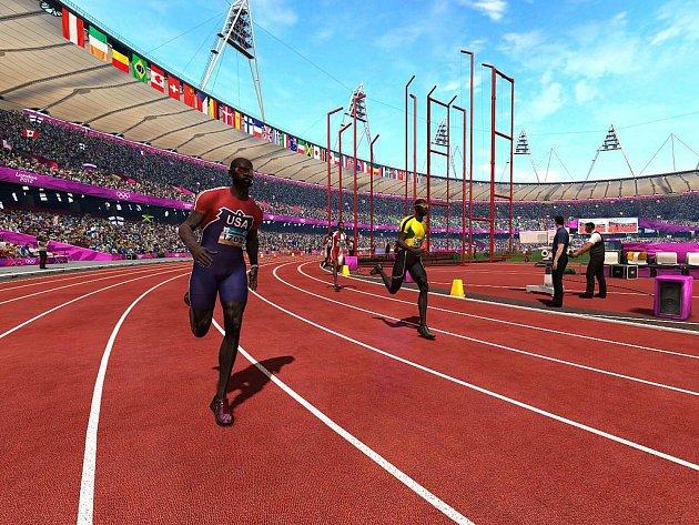 Počítačová hra London 2012 Olympics.