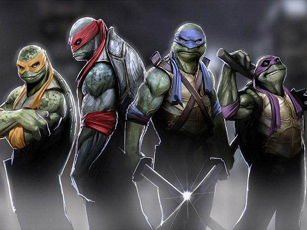 Želvy Ninja.