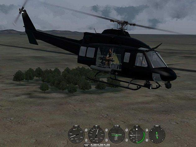 Počítačová hra Take on Helicopters.