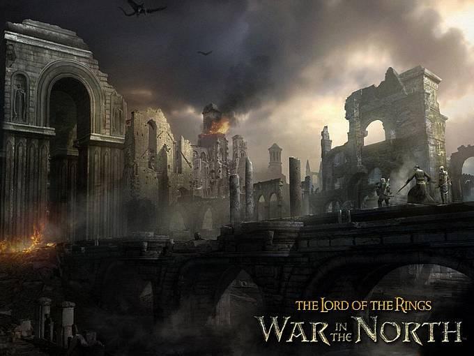 Počítačová hra Pán Prstenů s podtitulem War in the North.