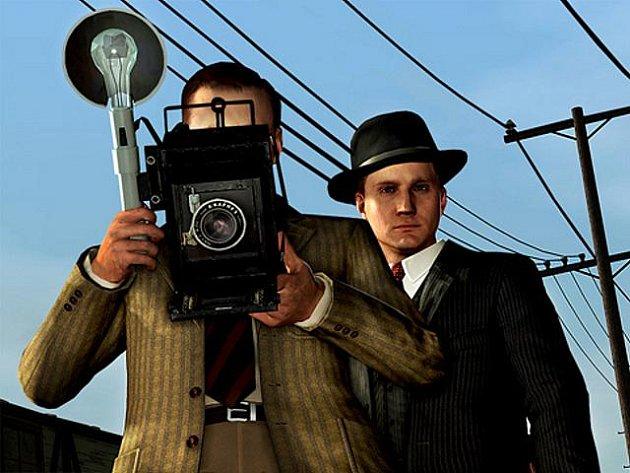 Počítačová akční hra L. A. Noire.