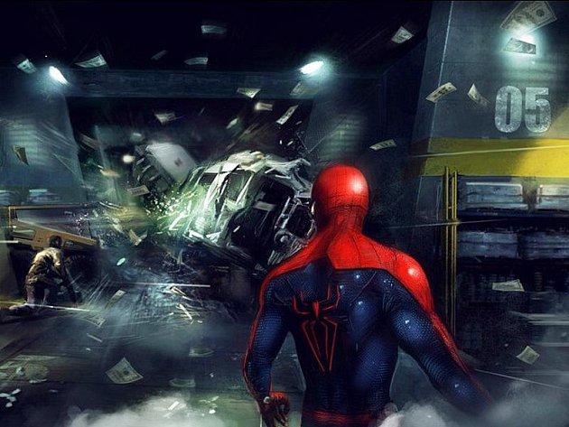Počítačová hra The Amazing Spider-Man.