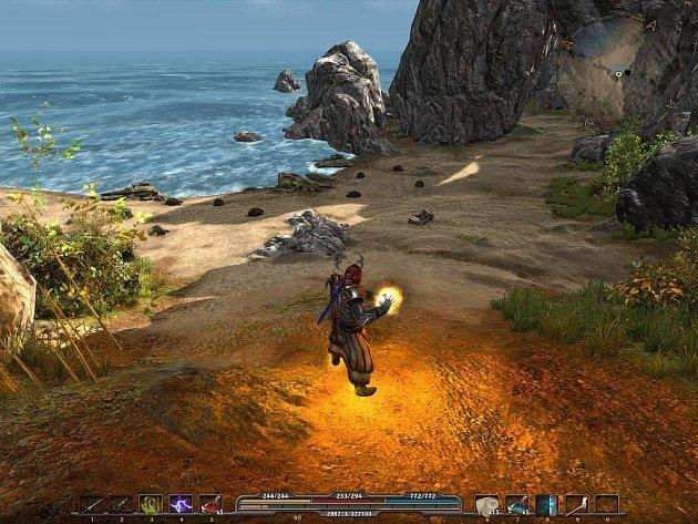 Samostatně hratelný datadisk Arcania: Fall of Setarrif k RPG titulu Arcania: Gothic 4.