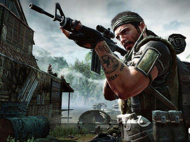 Počítačová hra Call of Duty: Black Ops.
