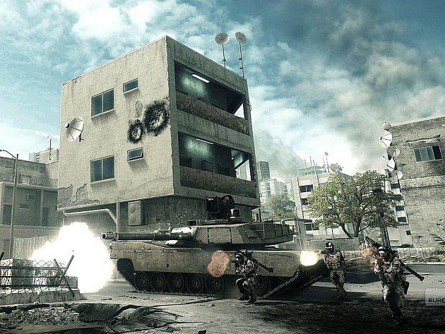 Počítačová hra Battlefield 3.