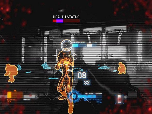 Záběr z počítačové hry Syndicate.