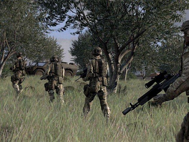 Počítačová hra ArmA 3.