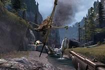 Počítačová hra Half-Life.