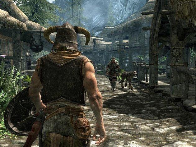 Počítačová hra The Elder Scrolls 5: Skyrim.