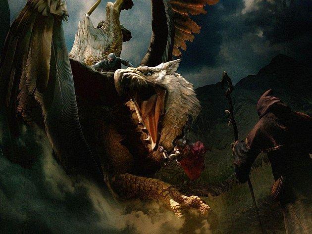 Počítačová fantasy hra Dragon´s Dogma.