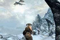 Vítěz ankety Hra roku 2011 - The Elder Scrolls V: Skyrim.