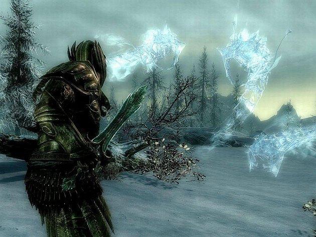 Počítačová hra The Elder Scrolls V: Skyrim.
