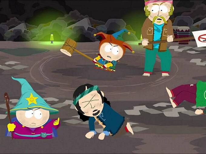 Počítačová hra South Park: The Game.
