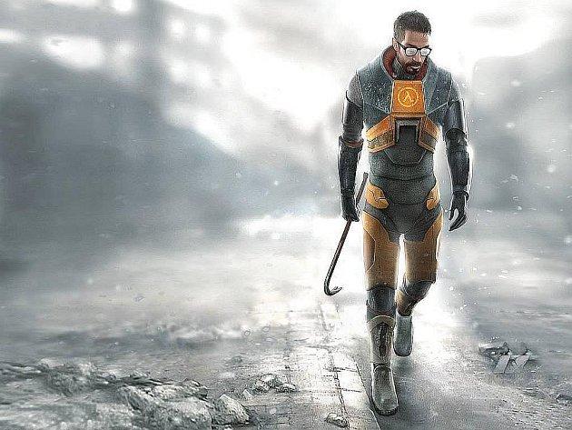 Hlavní hrdina počítačové hry Half-Life.