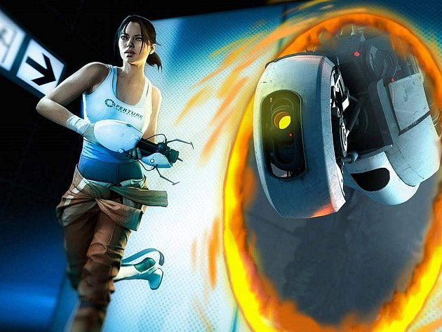 Počítačová hra Portal 2.