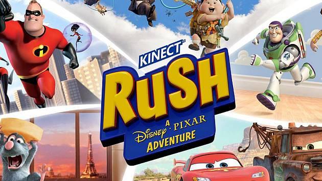 Počítačová hra Kinect Rush: A Disney Pixar Adventure.