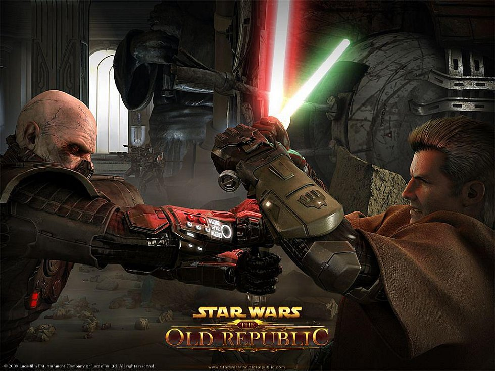 Počítačová hra Star Wars: The Old Republic.