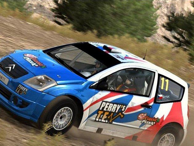 Počítačová hra WRC 2 FIA World Rally Championship.