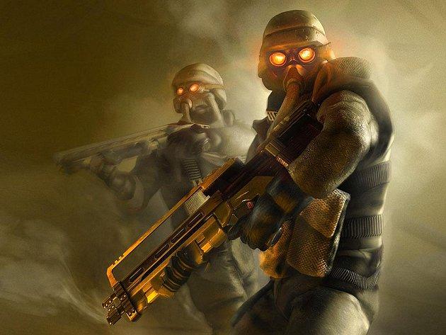 Počítačová hra Killzone.