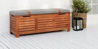 Úložné prostory pro terasu: využijte praktické boxy a multifunkční nábytek