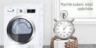 Sušičky prádla Bosch jako nezbytná součást každé moderní domácnosti