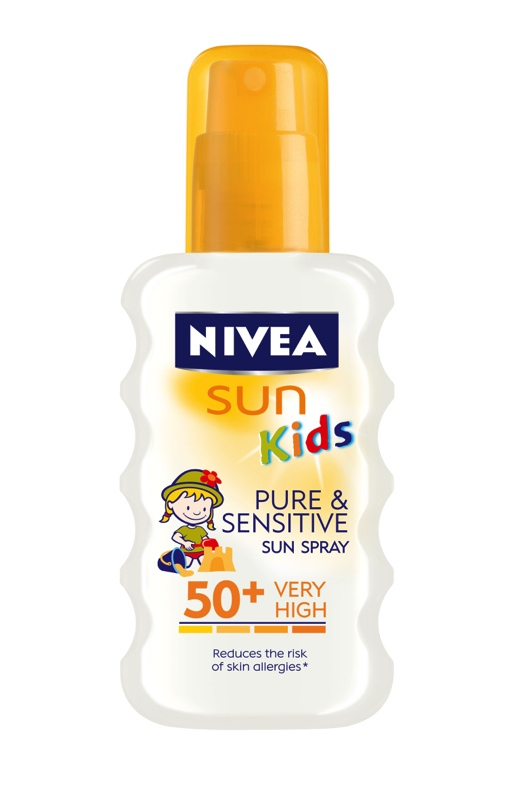 Nivea Detsky sprej na opalovani Pure & Sensitive OF50+_1524x2362