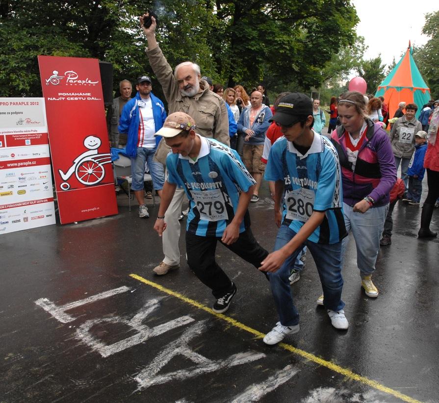 Běh pro Paraple 14.6.2012