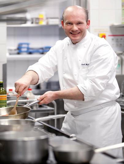 CottoCrudo, šéfkuchař Richard Fuchs