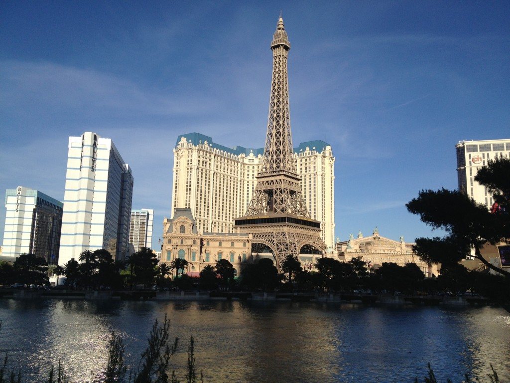 Eiffelova věž uhotelu Paris