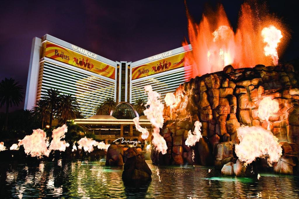 Koživení Las Vegas přispělo iotevření resortu The Mirage vroce 1989.