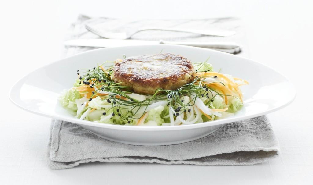 Karbanatek zuzene makrely se salatem
